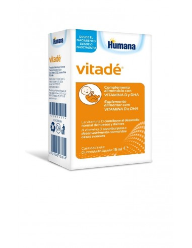 VITADÉ Vitamina D para el crecimiento...